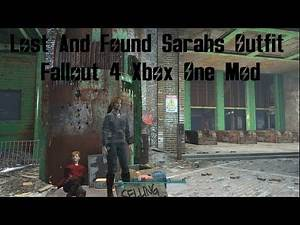 Fallout 4 Lost And Found Sarahs Outfit Xbox One Mod Lost And Found Sarahs Outfit XB1 Mod