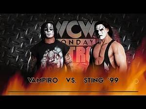 WWE 2K18 Vampiro vs. Sting