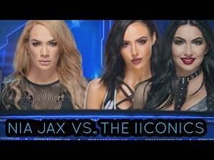 SD LIVE: NIA JAX TAKES ON THE IICONICS IN A HANDICAP MATCH!