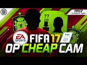 FIFA 17 OVERPOWERED CHEAP CAM!!! - FIFA 17 Ultimate Team
