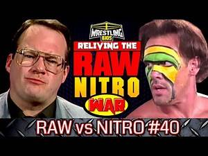 """Raw vs Nitro """"Reliving The War"""": Episode 40 - July 8th 1996"""