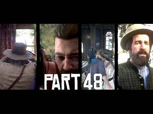 NEARLY FINISHED THE STRANGER MISSIONS - RDR2 PLAYTHROUGH PART 48