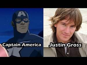 Characters and Voice Actors - Ultimate Avengers: The Movie