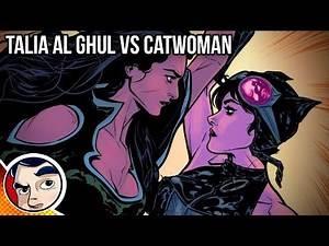 "Batman ""Catwoman Vs Bruce's Ex Talia Al Ghul"" - Rebirth Complete Story | Comicstorian"