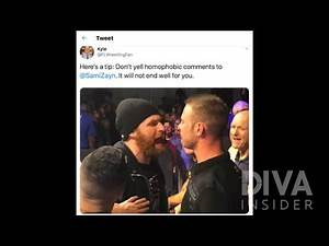 Sami Zayn gets into an altercation with fan