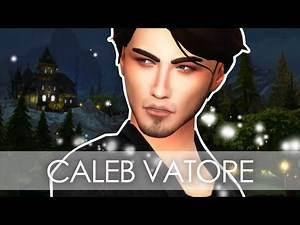 THE SIMS 4 // TOWNIE MAKEOVER // CALEB VATORE