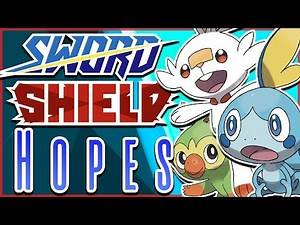 Top 10 Hopes for Pokémon Sword and Shield!