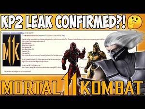 Mortal Kombat 11 - KOMBAT PACK 2 LEAK CONFIRMED BY DATAMINES?! Sektor, Smoke, Michael Myers & MORE!