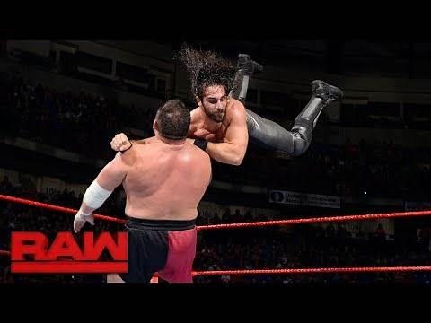 Seth Rollins vs. Samoa Joe: Raw, June 5, 2017