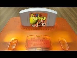 CGR Undertow - MARIO TENNIS review for Nintendo 64