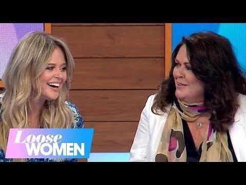 Kate Robbins Embarrasses Her Daughter Emily Atack   Loose Women