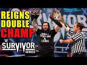 Roman Reigns DOUBLE CHAMPION At Survivor Series 2020 After Winning WWE Title From Randy Orton LEAKED
