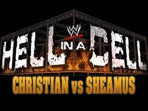 WWE SvR 2011: Christian vs. Sheamus at Hell In A Cell 2011 - (SvR 2011 Game)