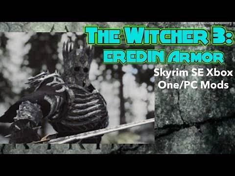 The Witcher 3: EREDIN Armor Set Skyrim SE Xbox One/PC Mods