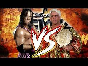 WCW Feel The Bang Mod Matches Bret Hart vs Ric Flair