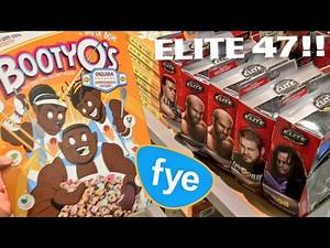 WWE TOY HUNT AT FYE! ELITE 47 WRESTLING ACTION FIGURES! BOOTY O'S AND MORE!