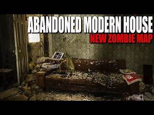 ABANDONED MODERN HOUSE (Call of Duty Zombies Map)