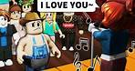 Roblox NOOB confessed her love for me... IN FRONT OF EVERYONE
