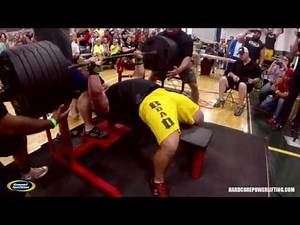 Hoornstra Raw Benches 675 Pounds at Gaspari Nutrition's Kings of the Bench X