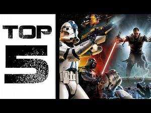 Top 5: Greatest Star Wars Video Games of All Time
