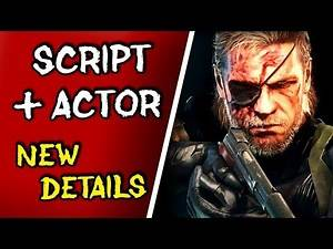 MGS Movie *NEW DETAILS* - First Script Completed, Snake Actor Cast Soon?!
