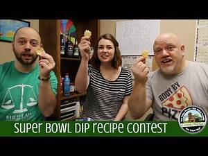3rd Annual Super Bowl Associate Dip Contest