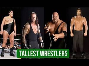 Top 10 Tallest Wrestler In History Of WWE/WWF | Giant Wrestlers