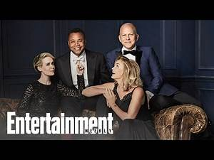 Ryan Murphy, Jessica Lange, Sarah Paulson & Cuba Gooding Jr. | Cover Shoot | Entertainment Weekly
