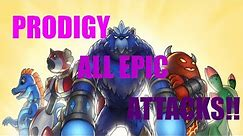 ALL EPIC ATTACKS! - Prodigy Game