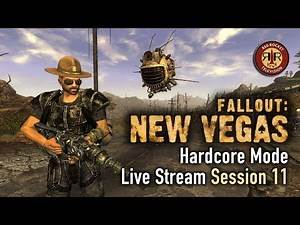 Fallout: New Vegas | PC Modded Live Stream | Hardcore Mode | Session 11 | New AWOP Update!