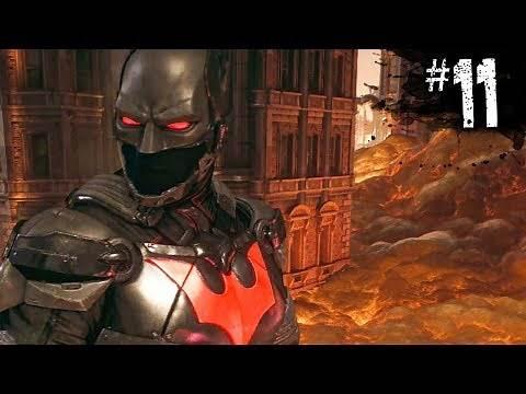 BATMAN BEYOND SUIT 😱 - Batman: Arkham Knight - Part 11
