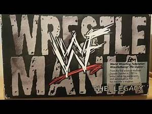 WWF WrestleMania: The Legacy VHS Collection 1985-1999