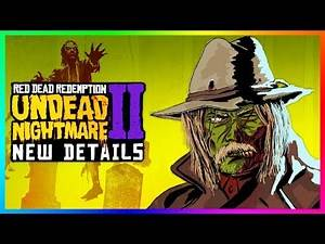 Red Dead Redemption 2 Online DLC - NEW DETAILS! Halloween Update, Release Date & Story Characters!