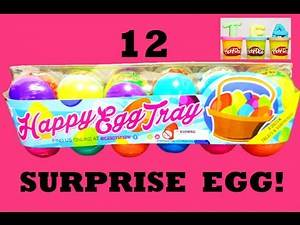 Easter Egg | Surprise Eggs with Hello Kitty Shopkins Cookie Monster Minions and more