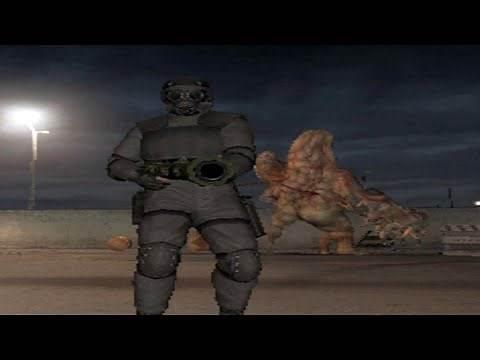 Resident Evil Outbreak: File #2   Showdown #2 (As HUNK)