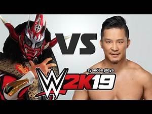Jushin Thunder Liger vs KUSHIDA (WWE 2K19)