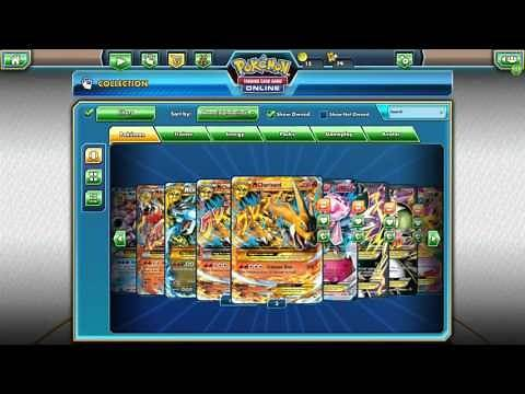 Pokemon TCG Online Mega Evolution Card Collection