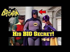 You WON'T Believe What Batman (Adam West) Had to Do EVERY DAY While Filming!--Batman 1960's