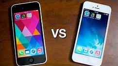 iPhone 5c vs iPhone 5 - Performance Geekbench, Graphics & Browser Battle