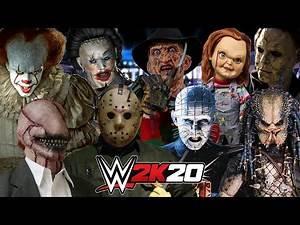 WWE 2K20 | HORROR MOVIE FIRST BLOOD MATCH