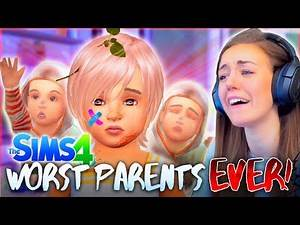 👏 WORST 👏 PARENTS 👏 EVER. (The Sims 4 #18! 🏡)