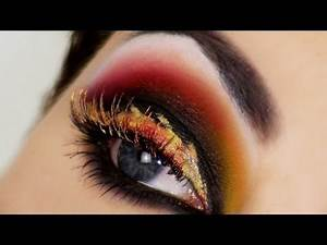 Eyes on Fire - Hunger Games Catching Fire Inspired Makeup