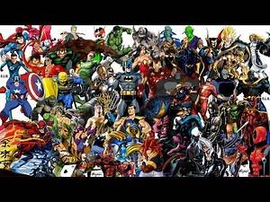 ACCURATE RANK 100 MOST POWERFUL & STRONGEST DC Comics vs Marvel vs Anime vs Manga