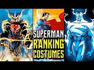 Every Comic Superman Suit Ranked from Worst to Best