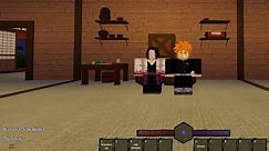 DEMON SLAYER ON ROBLOX WISTERIA (HOW TO GET TO DEMON CORPS HQ) EXCHANGING CONTRIBTIONS FOR MONEY