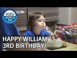 Happy William's 3rd birthday! [The Return of Superman/2019.07.28]