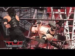 Roman Reigns vs. Sheamus – TLC Match: WWE TLC 2015