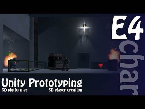 Making Your First Game: Unity 3D Zombie Shooter Platformer - Creating our 3D Character