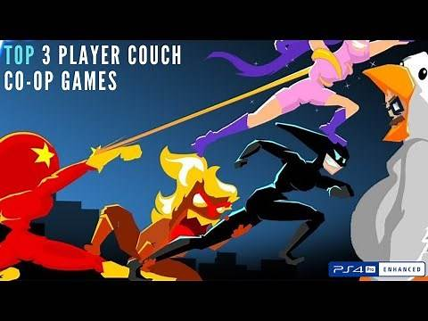 Top 3 Player Couch Co-op Games