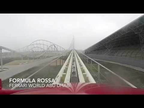 Formula Rossa POV - World's Fastest Coaster